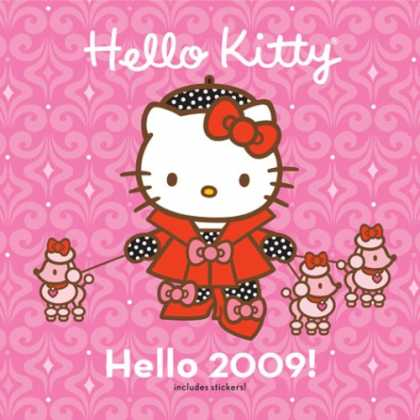 Bestselling Comics (2008) - Hello Kitty Hello 2009! Wall Calendar: (with stickers) by Abrams