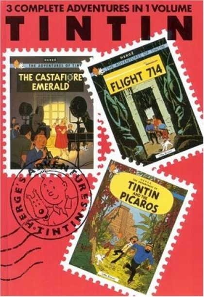 Bestselling Comics (2008) - The Adventures of Tintin: The Castafiore Emerald, Flight 714, Tintin and the Pic - Tintin - Flight 714 - Emerald - The Castafiore Emerald - Tintin And The Picaros