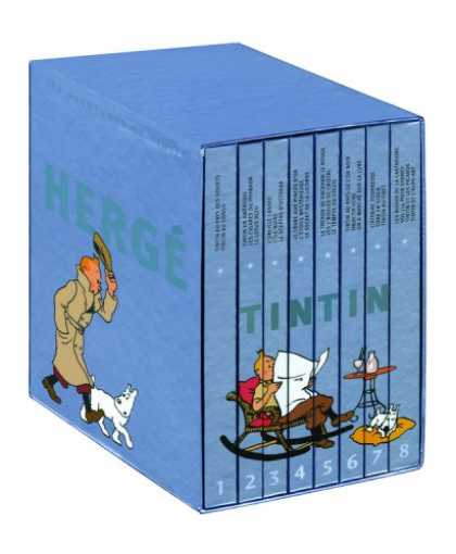 Bestselling Comics (2008) - The Adventures of Tintin: Collector's Gift Set by Herge - Tintin - Herge - Dog - Books - Man