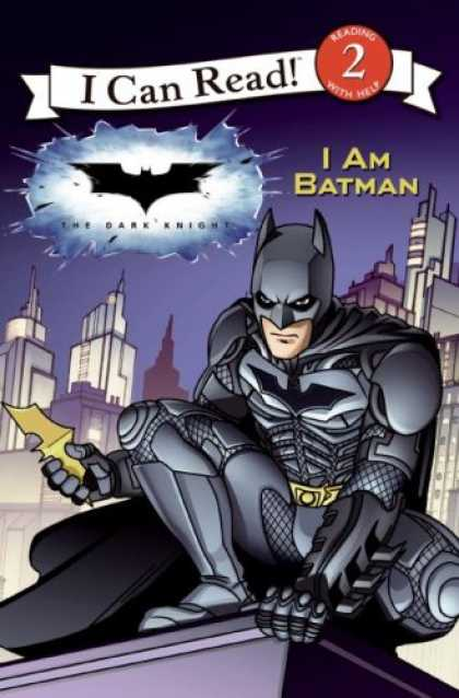 Bestselling Comics (2008) - The Dark Knight: I Am Batman (I Can Read Book 2) by Catherine Hapka - I Can Read - Reading With Help - I Am Batman - The Dark Knight - Mask