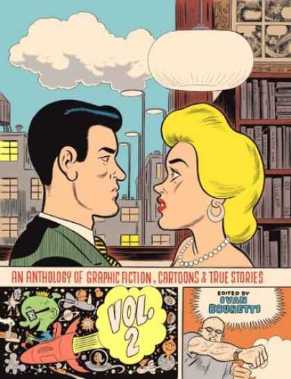 Bestselling Comics (2008) - An Anthology of Graphic Fiction, Cartoons, and True Stories: Volume 2 (Anthology - Ivan Bounetti - Anthology - Graphic Action - Cartoons - True Stories