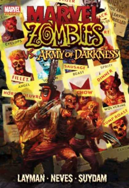 Bestselling Comics (2008) - Marvel Zombies vs. Army of Darkness by John Layman - Marvel - Marvel Zombies - Army Of Darkness - Cyclops - Beast