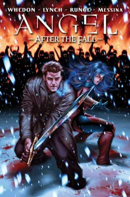 Bestselling Comics (2008) - Angel: After The Fall Volume 3 HC (Angel (IDW Publishing) (hardcover)) (v. 3) by - Snow - Hell - Sword - Demons - Righteous Fury