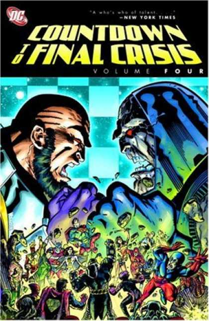 Bestselling Comics (2008) - Countdown to Final Crisis, Vol. 4 - Volume Four - Countdown - Final Crisis - Battles - People Running
