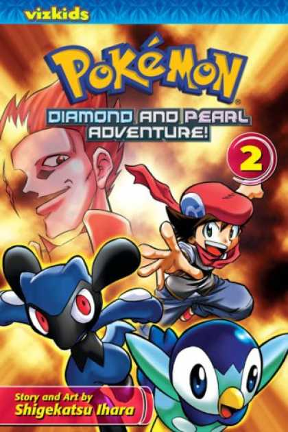 Bestselling Comics (2008) - Pokémon: Diamond and Pearl Adventure!, Volume 2 (Pokémon Diamond and Pearl - Flames - Fire Flash - Bird - Red - Blue Heros