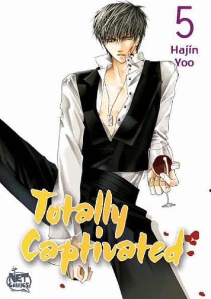Bestselling Comics (2008) - Totally Captivated: Volume 5 (v. 5) by Hajin Yoo - Net Comics - Hajin Yoo - Totally Captivated - Red Wine - Silver Necklace