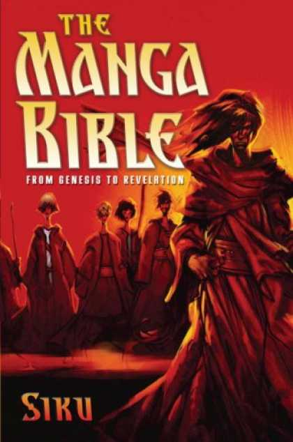 Bestselling Comics (2008) - The Manga Bible: From Genesis to Revelation by Siku - Siku - Red - Sunrise - From Genesis To Revelation - Sunset