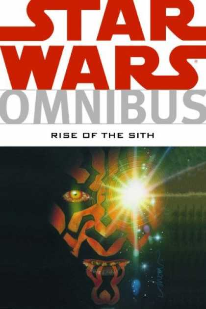 Bestselling Comics (2008) - Star Wars Omnibus: Rise Of The Sith by Various - Star Wars - Eye - Red Eye - Red Face Man - Rise Of The Sith