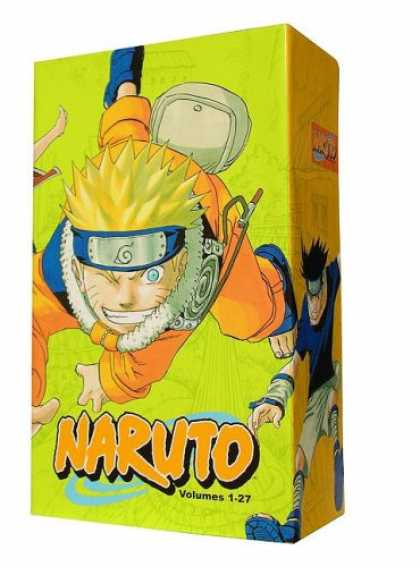 Bestselling Comics (2008) - Naruto 2008 Box Set, Volumes 1-27