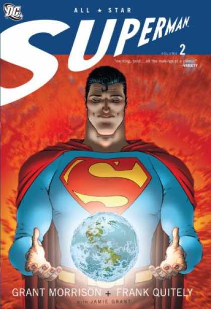 Bestselling Comics (2008) - All Star Superman, Vol. 2 by Grant Morrison - Superman - Superhero - Dc Comic - Comic Book - Save The World