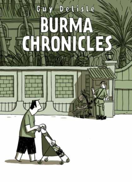 Bestselling Comics (2008) - The Burma Chronicles by Guy Delisle - Army - Baby - Reception - Baby Cart - Walking
