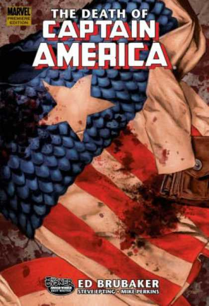 Bestselling Comics (2008) - The Death of Captain America, Vol. 1 (v. 1) by Ed Brubaker