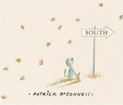 Bestselling Comics (2008) - South by Patrick McDonnell - Signpost - Cat And Bird - Travel - Leaves - Autumn