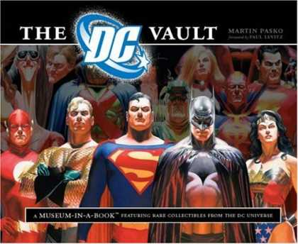 Bestselling Comics (2008) - The DC Vault: A Museum-in-a-Book with Rare Collectibles from the DC Universe by - Dc - Batman - Superman - Vault - Superfriends