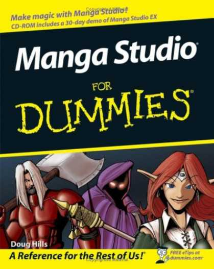 Bestselling Comics (2008) - Manga Studio For Dummies (For Dummies (Computer/Tech)) by Doug Hills
