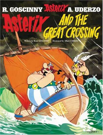 Bestselling Comics (2008) - Asterix and the Great Crossing by Rene Goscinny - Vikings - Adventure - Sea - Waters - Boat