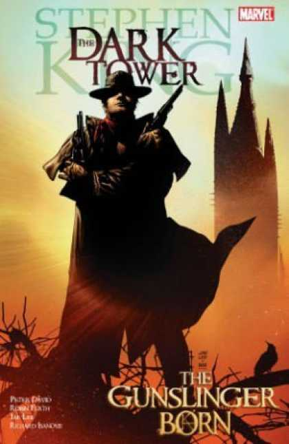 Bestselling Comics (2008) - The Gunslinger Born (The Dark Tower Graphic Novels, Book 1) by Peter David - Marvel - Stephen King - The Dark Tower - Guns Weapons