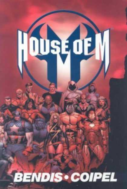 Bestselling Comics (2008) - House of M (Marvel Comics) by Brian Michael Bendis