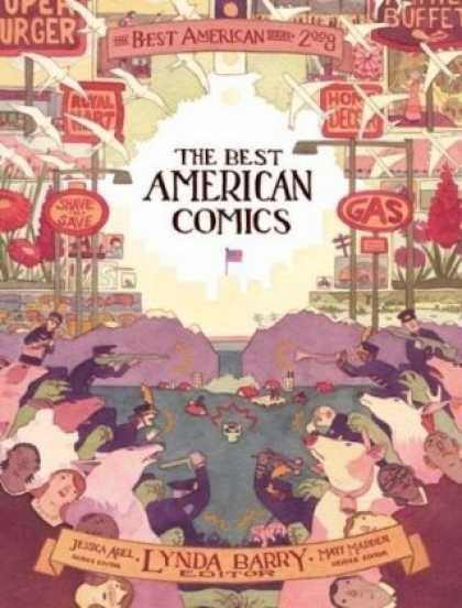 Bestselling Comics (2008) - The Best American Comics 2008 (The Best American Series)