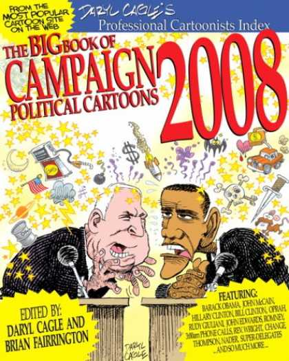 Bestselling Comics (2008) - The Big Book of Campaign 2008 Cartoons by Daryl Cagle