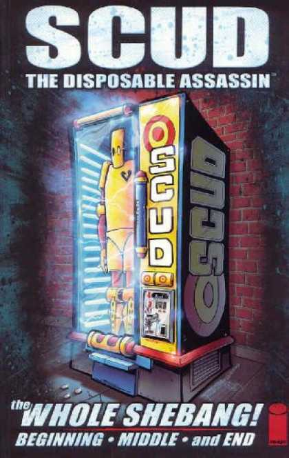 Bestselling Comics (2008) - Scud: The Whole Shebang by Rob Schrab
