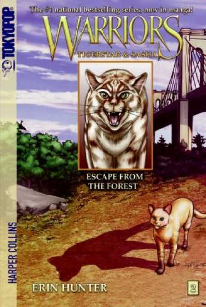 Bestselling Comics (2008) - Escape from the Forest (Warriors: Tigerstar and Sasha, No. 2) by Erin Hunter