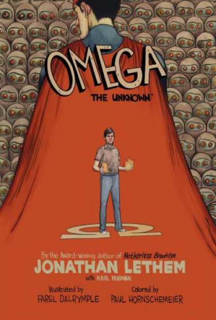 Bestselling Comics (2008) - Omega: The Unknown by Jonathan Lethem