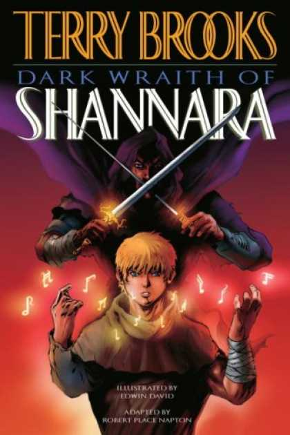 Bestselling Comics (2008) - Dark Wraith of Shannara by Terry Brooks - Terry Brooks - Edwin David - Dark Wraith - Shannara - Swords