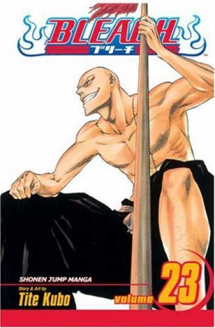 Bestselling Comics (2008) - Bleach, Volume 23 - Volume One - Bleach - Stick - Black Cloth - Shonen Jump Manga