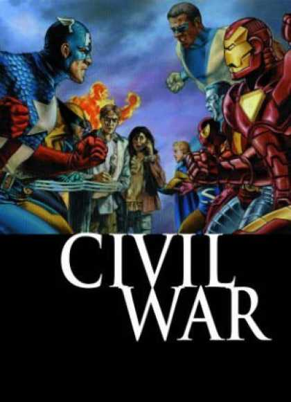 Bestselling Comics (2008) - Civil War: Front Line, Book 1 (Bk. 1) by Paul Jenkins - Captain America - Civil War - Iron Amn - Superhero Registration - Brian Michael Bendis