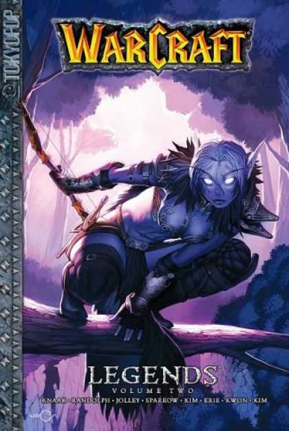Bestselling Comics (2008) - Warcraft: Legends Volume 2 (v. 2) by Aaron Sparrow - Warcraft - Tokyogroup - Legends - Volume Two - Night Elf
