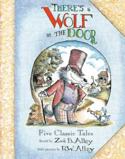 Bestselling Comics (2008) - There's a Wolf at the Door by Zoe Alley