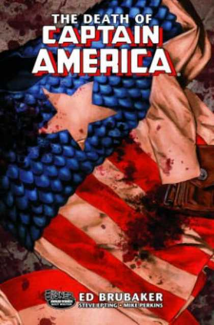 Bestselling Comics (2008) - The Death of Captain America, Vol. 1: The Death of the Dream by Ed Brubaker - Captain America - Death - Defeat - Superhero - Lost