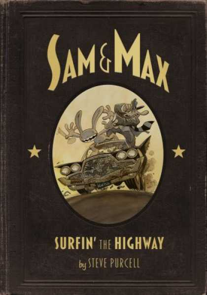 Bestselling Comics (2008) - Sam & Max Surfin the Highway Anniversary Edition - Sam U0026 Max - Sufin The Highway - Steve Purcell - Car Surfing - Crazy Car