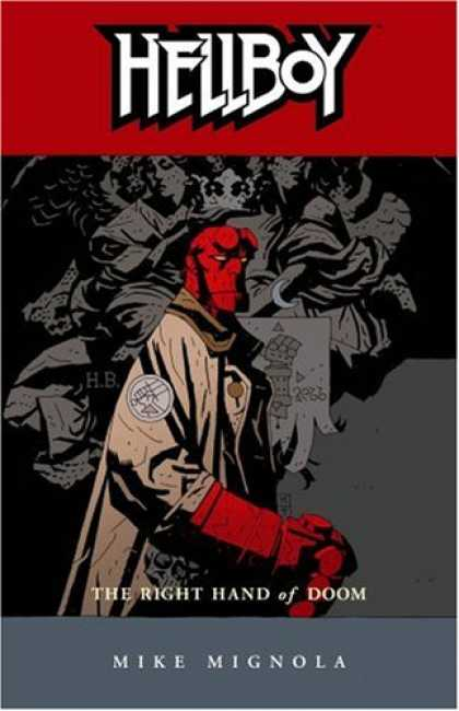 Bestselling Comics (2008) - Hellboy, Vol. 4: The Right Hand of Doom (v. 4) by Mike Mignola
