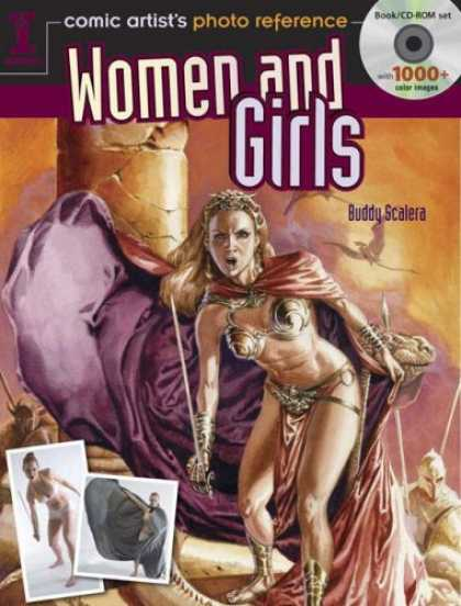 Bestselling Comics (2008) - Comic Artist's Photo Reference Women And Girls by Buddy Scalera - Buddy Scalera - Small Dragons Flying - Bookcdrom Set - Angry Looking Woman - Spiral Style Bra