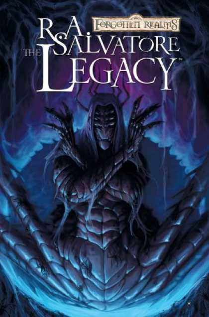 Bestselling Comics (2008) - Forgotten Realms Volume 7: The Legacy (Forgotten Realms Graphic Novels) (v. 7) b - Ra Salvatore - The Legacy - Forgotten Realms - Insect - Legs