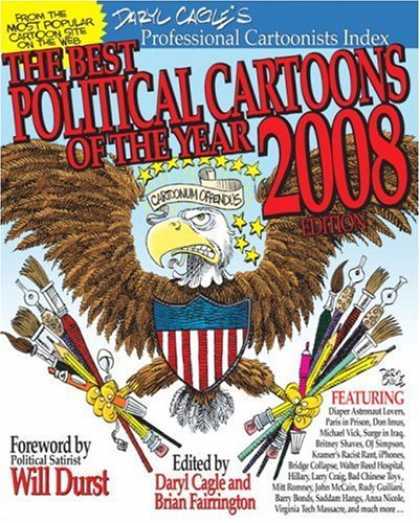 Bestselling Comics (2008) - The Best Political Cartoons of the Year, 2008 Edition by Daryl Cagle
