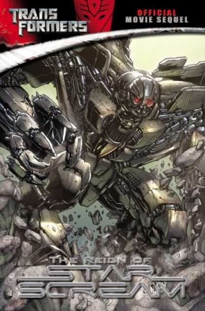 Bestselling Comics (2008) - The Reign of Starscream (Transformers Movie Sequel) by Chris Mowry