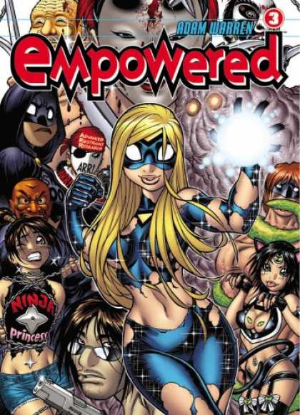 Bestselling Comics (2008) - Empowered Volume 3 (v. 3) by Adam Warren
