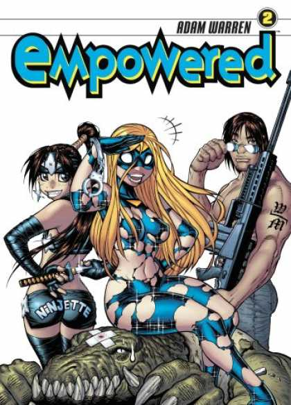 Bestselling Comics (2008) - Empowered Volume 2 (v. 2) by Adam Warren