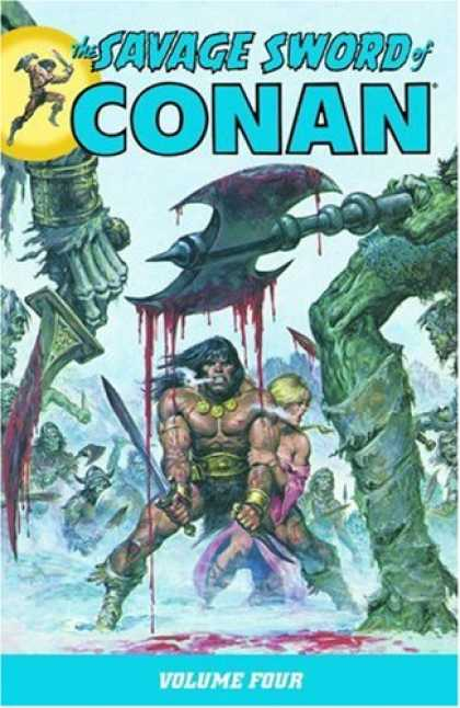 Bestselling Comics (2008) - The Savage Sword of Conan Volume 4 (Conan (Graphic Novels)) by Roy Thomas