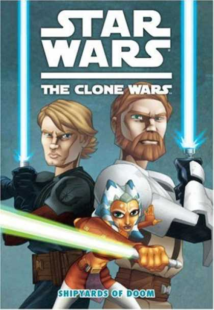 Bestselling Comics (2008) - Star Wars Clone Wars: The Shipyards of Doom (Star Wars: the Clone Wars) by Henry