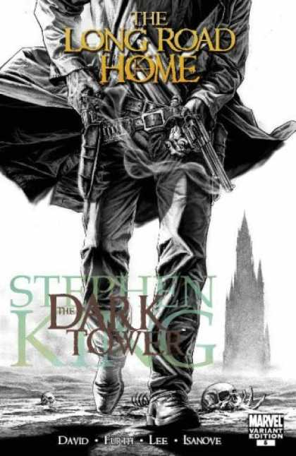 Bestselling Comics (2008) - Dark Tower: The Long Road Home (Exclusive Amazon.com Cover) by Stephen King - Long Road Home - Gunslinger - Dark Tower - Stephen King - Marvel Variant