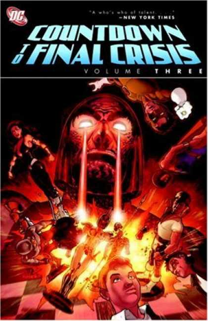 Bestselling Comics (2008) - Countdown to Final Crisis, Vol. 3 by Sean McKeever - Chessboard - Heroes - Explosion - Volume 3 - Pawns