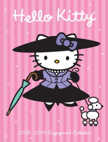 Bestselling Comics (2008) - Hello Kitty 2008-2009 Engagement Calendar by Abrams - Hello Kitty - Pink - Girls - Cartoon - Asian