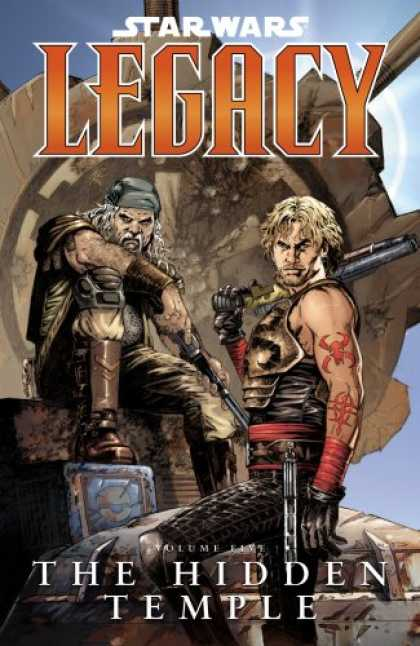 Bestselling Comics (2008) - The Hidden Temple (Star Wars: Legacy, Vol. 5) by John Ostrander