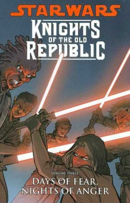 Bestselling Comics (2008) - Star Wars: Knights of the Old Republic Volume 3: Days of Fear, Nights of Anger b - Star Wars - Knights Of The Old Republic - Swords - Battle - Days Of Fearnights Of Anger