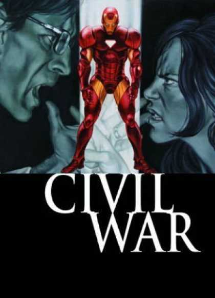 Bestselling Comics (2008) - Civil War: Front Line, Book 2 (Bk. 2) by Paul Jenkins - Civil War - Iron Man - Angry Man - Angry Woman - Superhero