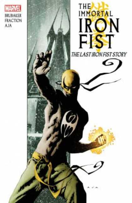 Bestselling Comics (2008) - Immortal Iron Fist, Vol. 1: The Last Iron Fist Story (v. 1) by Ed Brubaker - Marvel - Brubaker - The Immortal Iron Fist - The Last Iron Fist Story - Fraction